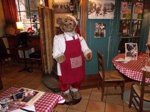 Ours cuisinier
